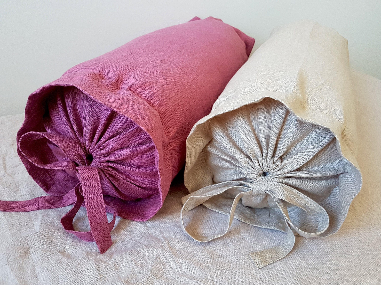 bolster pillow cover neck roll pillow