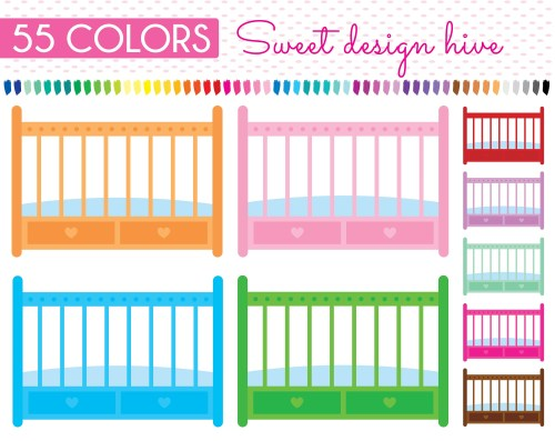 small resolution of baby cribs clipart baby crib clip art baby bed clipart baby etsy baby cradle clipart