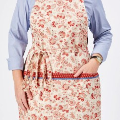 Cute Kitchen Aprons Wood Apron Valentine S Day Vintage Style Etsy Image 0