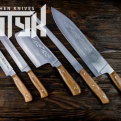 Professional Kitchen Knives Shelf Display Ideas Knife Set Engraved Chef Etsy Image 0