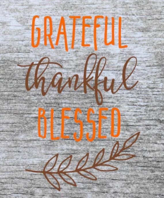 Thankful Svg : thankful, Christian, Thankful, Thanksgiving