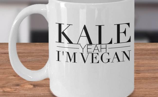 Funny Vegan Mug Gift Idea For Vegans Unique Vegan Gifts Etsy