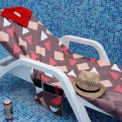 Beach Chair Bathroom Accessories Vintage Arm Cotton Towel Lounge Sunbed Etsy Image 0