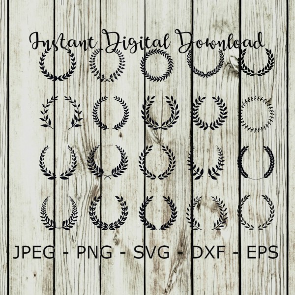 wreath template free svg # 40