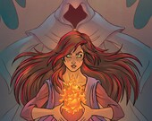 The Last Ember - Issue #1 - Emberverse - Fire Goddess - Comic Book - Indie Comic - She's the last of her kind!
