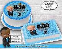 Boss baby cake   Etsy