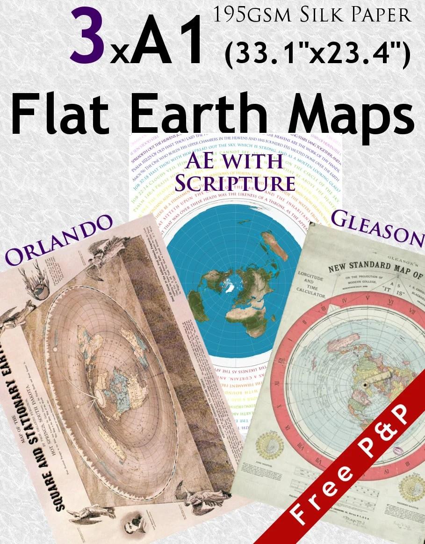 3 x flat earth