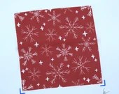 Ballet wrap skirt Snowflakes - Christmas - frost pattern