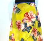 Ballet wrap skirt Aloha, handmade