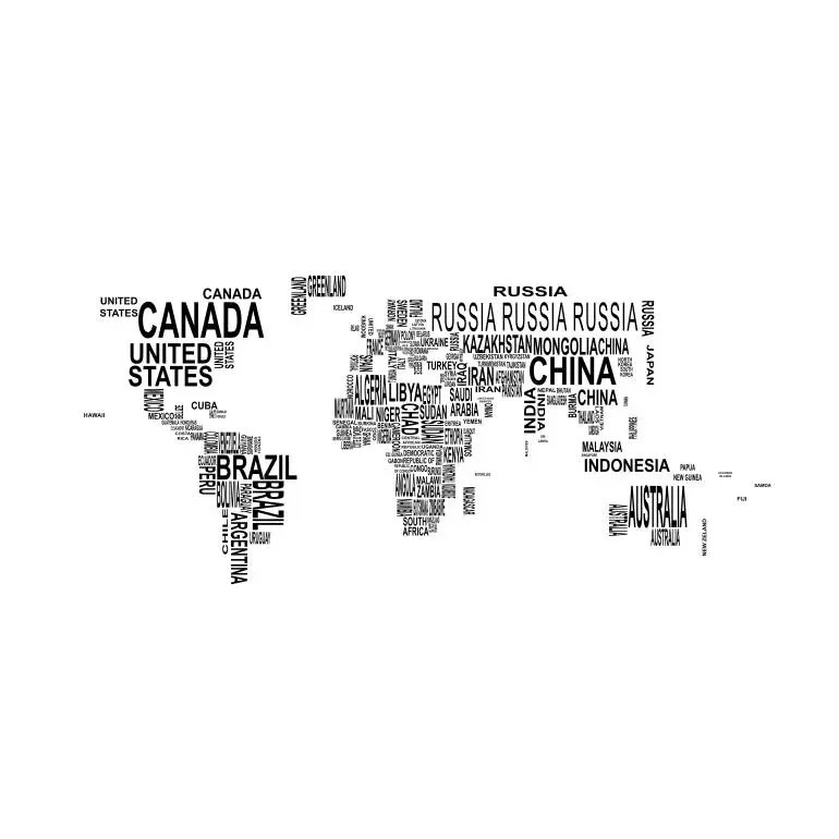 Earth Map World country names Graphics SVG Dxf EPS Png Cdr