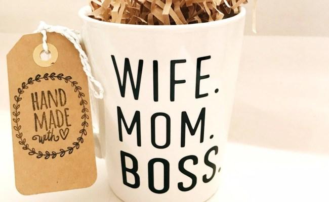 Wife Mom Boss Mug Boss Day Gift Boss Lady Mug Gift For Etsy
