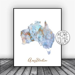 Wall Prints For Living Room Australia Furniture Traditional Style Print Art Map Etsy Image 0