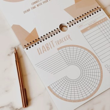 Habit tracker: 12 month calendar image 0