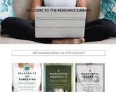 Resource Library Elementor Template - Pro Bogger Set | Landing Page for Elementor | Resource Library for WordPress Websites