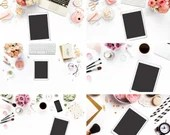 Book iPad Mockups | iPad Pink Collection Mockups | Feminine iPad Mockups