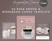 eBook Workbook Checklist Canva Template - STYLISH BOSS 20-Page - Stylish Boss Collection