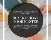 Black Friday Door Buster Sale - Lifetime Membership to KerrieLegend.com - Mockups, Templates, Courses, Styled Stock Photos, etc.