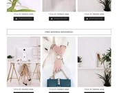 Lady Boss Elementor Template - Resource Library | Landing Page for Elementor | Resource Library for WordPress Websites