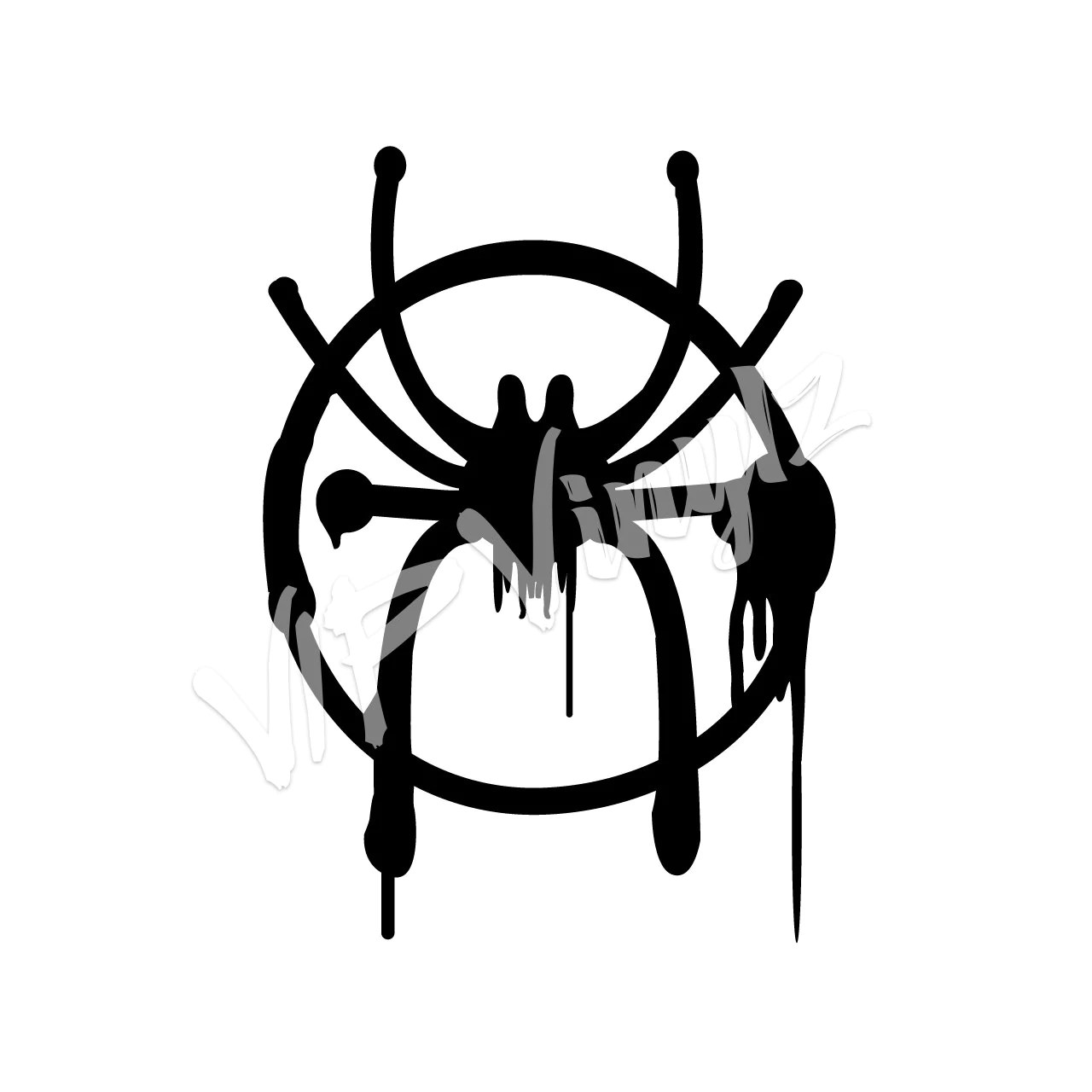 Miles Morales Spider-Man Symbol from Spider-Man: Into the