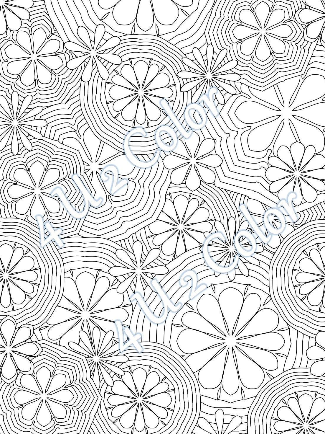 Flower power coloring pages printable worksheets and activities