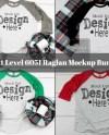 Raglan Shirt Mockup Bundle Next Level 6051 Raglan Mockup Etsy
