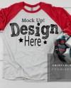 Next Level 6051 Vintage Red Heather White Fall T Shirt Mockup Etsy