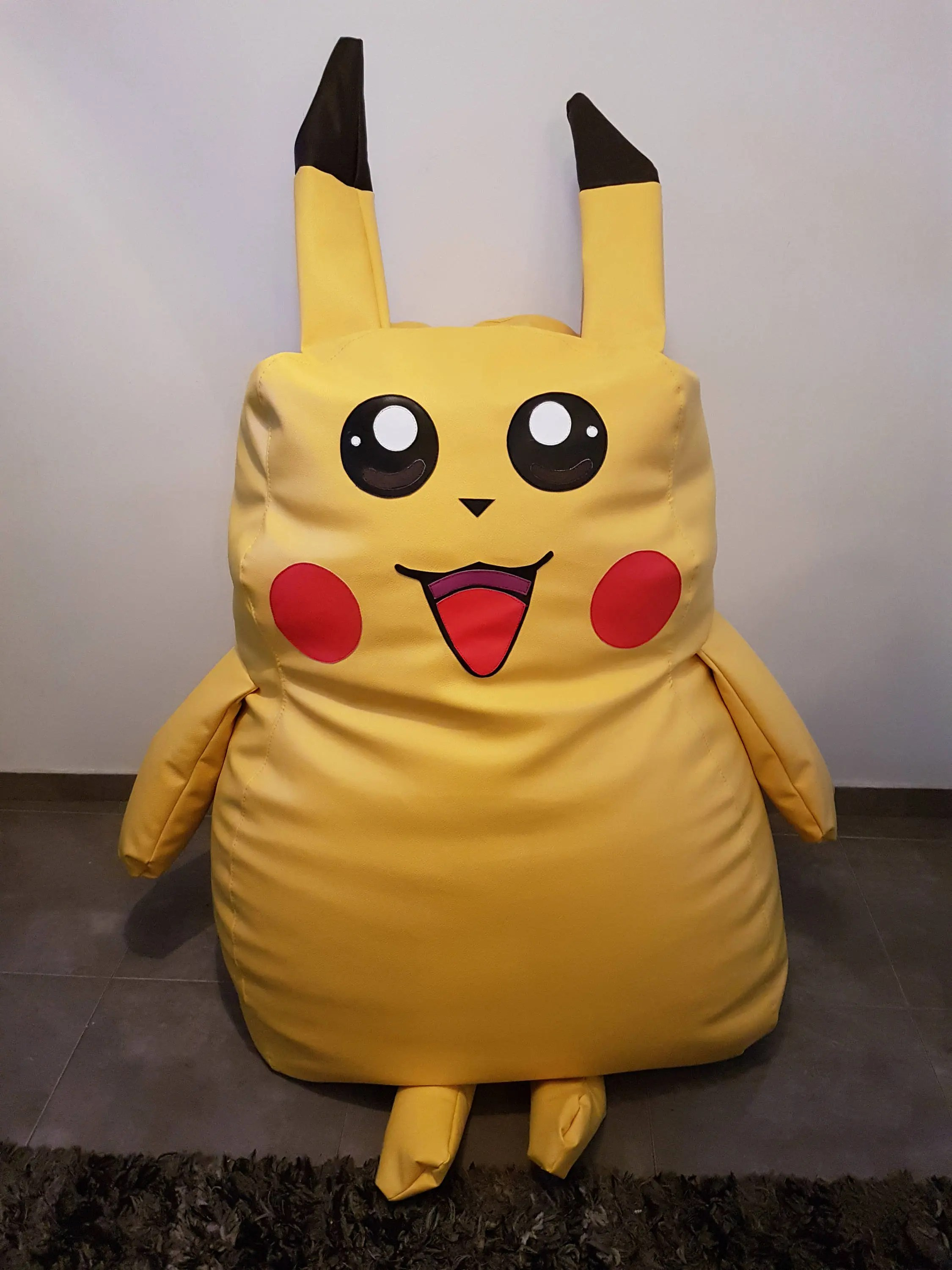 Where Can I Buy A Bean Bag Chair Large Pokemon Pikachu Bean Bag Chair Handcrafted