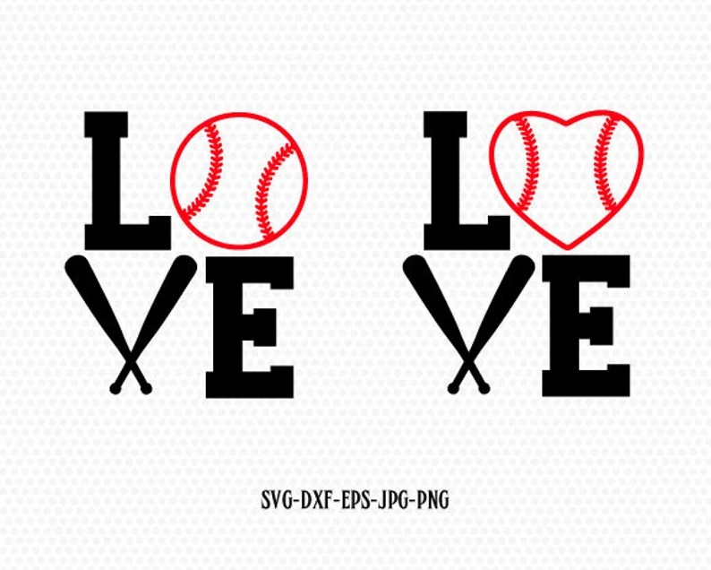 Download Baseball Love SVG Baseball Monogram framesSvg Baseball Cut ...