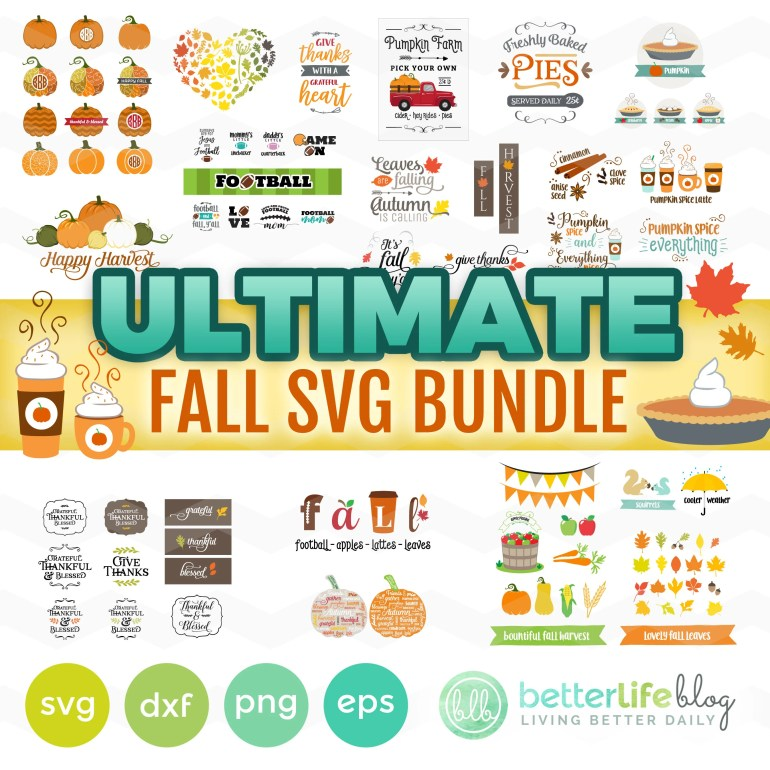 Fall SVG Bundle: Fall SVG...