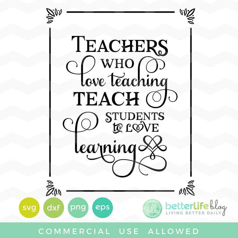 Download Teachers Who Love Teaching Teach Students to Love Learning ...