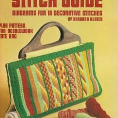 Needlepoint Stitches Stitch Diagrams Trailer 4 Way Wiring Diagram Designs 18 Leisure Etsy Image 0