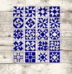 svg quilt tone blocks etsy barn square quilts half quilting patterns patchwork pattern triangle sold vendido produto por signs painted