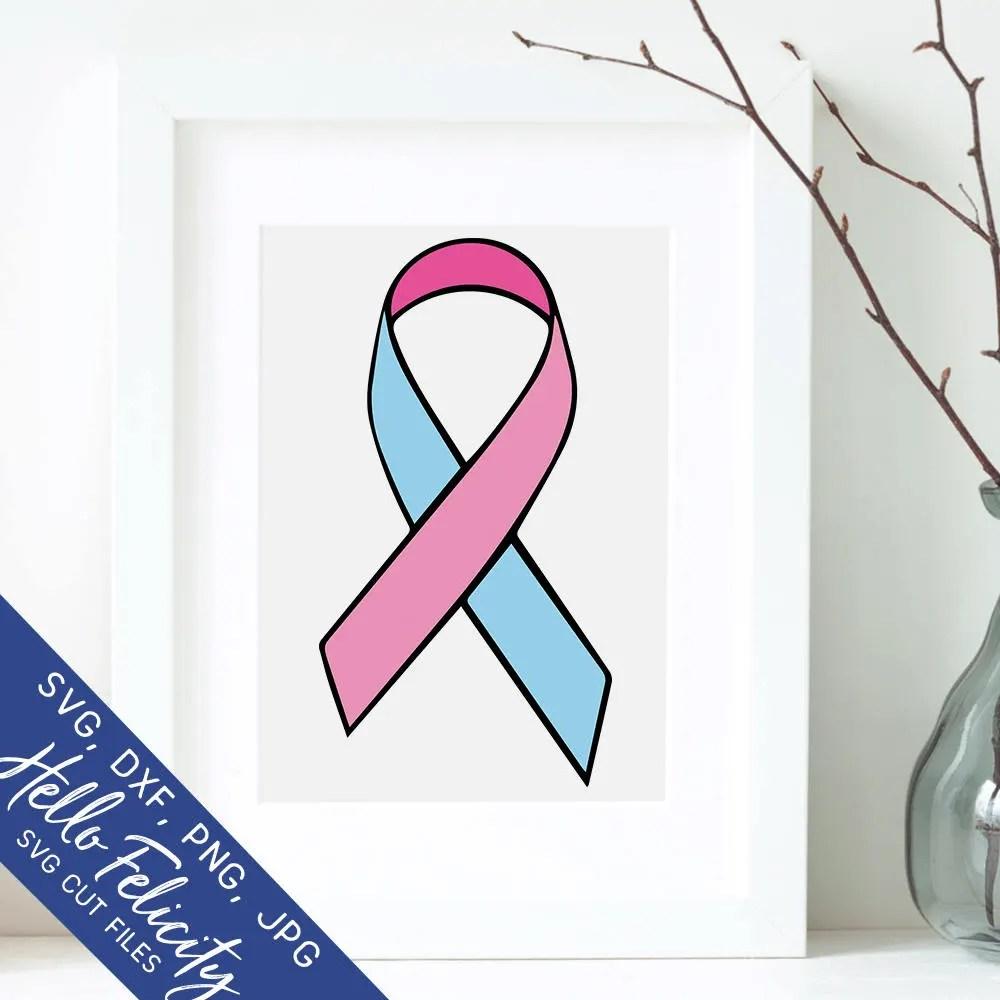 ribbon awareness svg ribbon