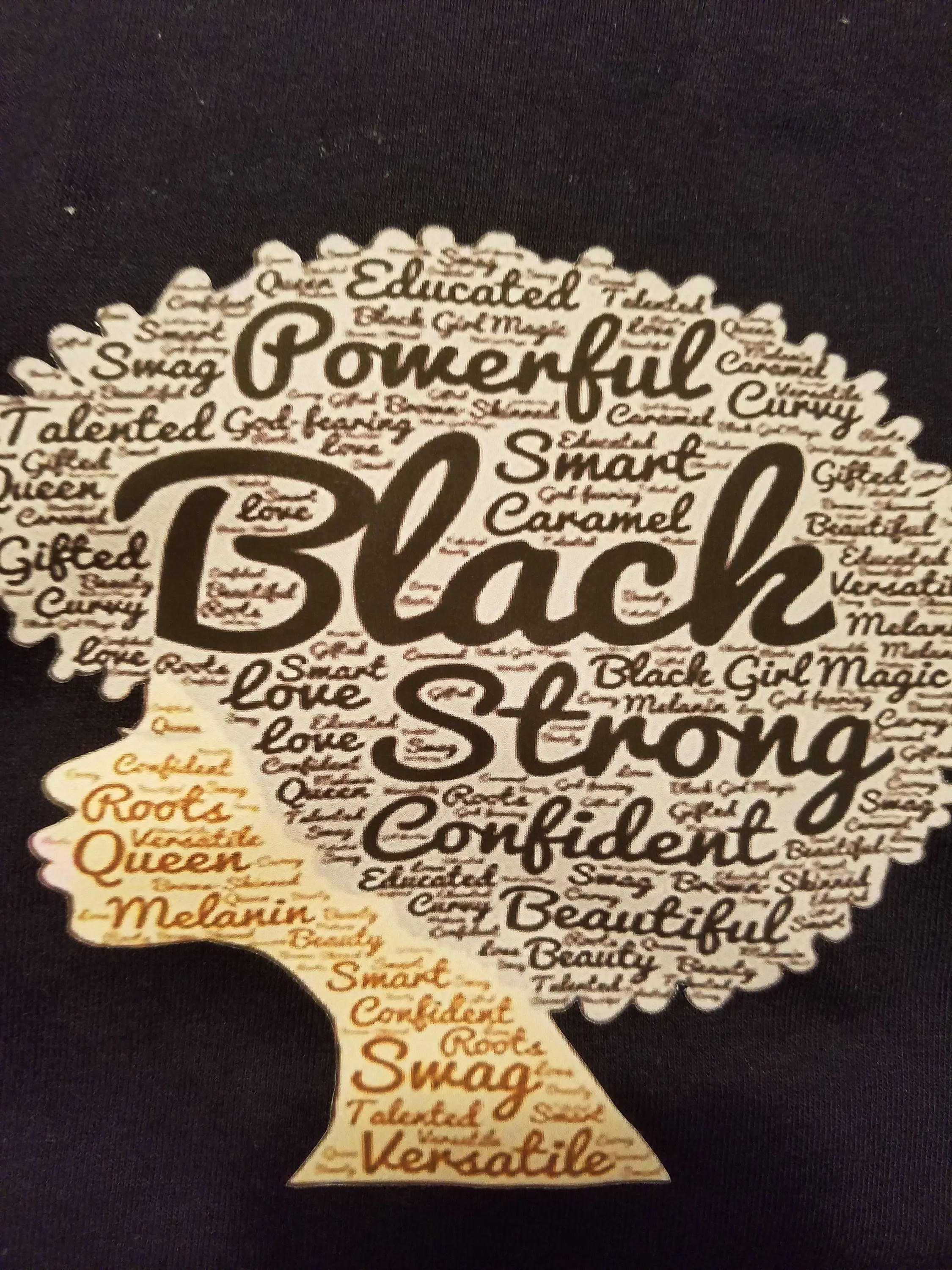 strong black woman shirt