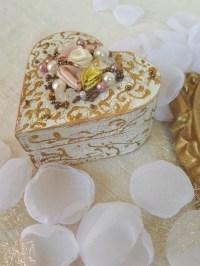Elegant Wedding Ring Box Ring Bearer Wooden Ring Box Ring ...