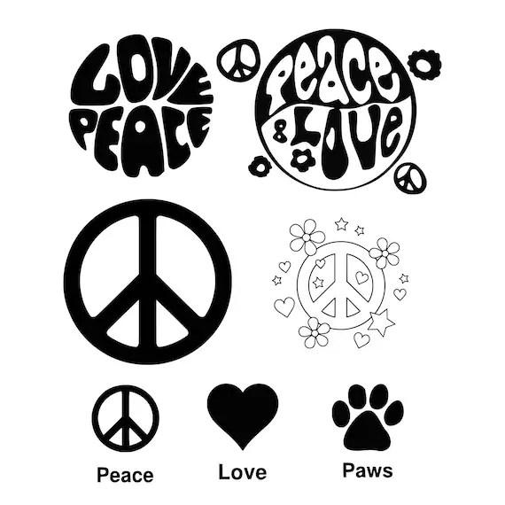 Download Love Paw svg Love svg Paw svg Dog svg Cat svg Peace svg ...
