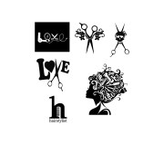 hairdresser svg hair salon
