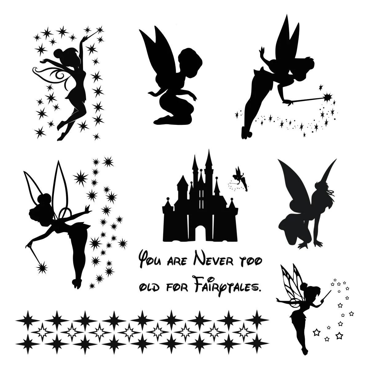Tinkerbell Svg Tinkerbell Clipart Tinker Bell Svg Disney