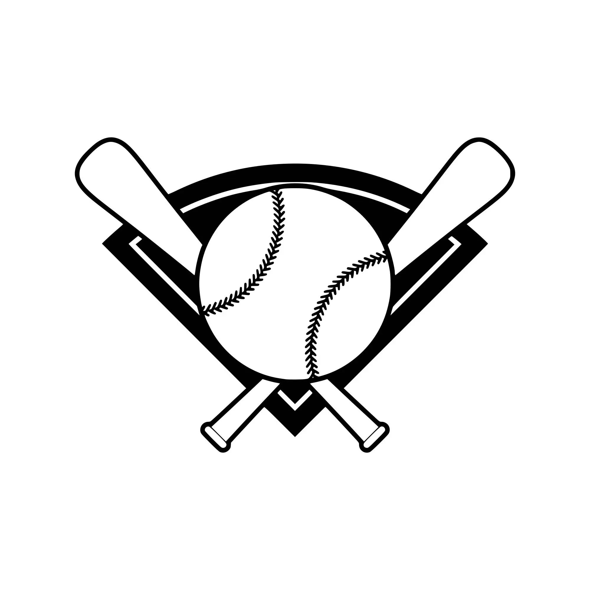 Baseball Bat Svg Baseball Svg Baseball Silhouette Baseball