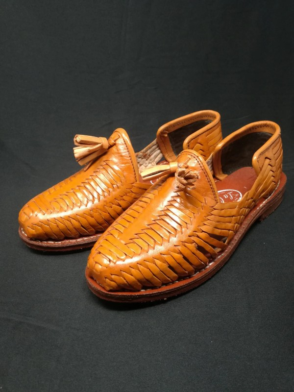 Mens Huaraches Sandals Mexican. 100 Leather Vintage