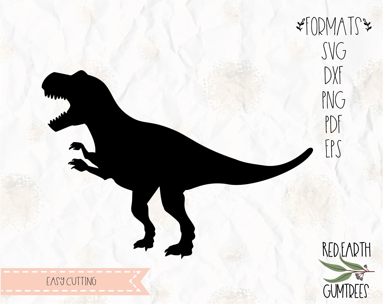 Dinosaur Trex T Rex Tyrannosaurus Svg Dxf Eps