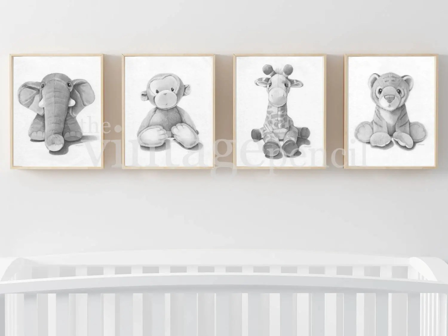 nursery animal print etsy
