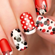 minnie mouse disney nail transfers