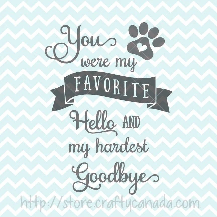 Download You Were My Favorite Hello And My Hardest Goodbye SVG and ...