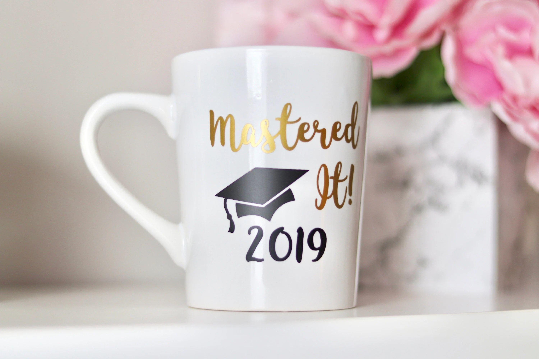 mastered it mug graduation