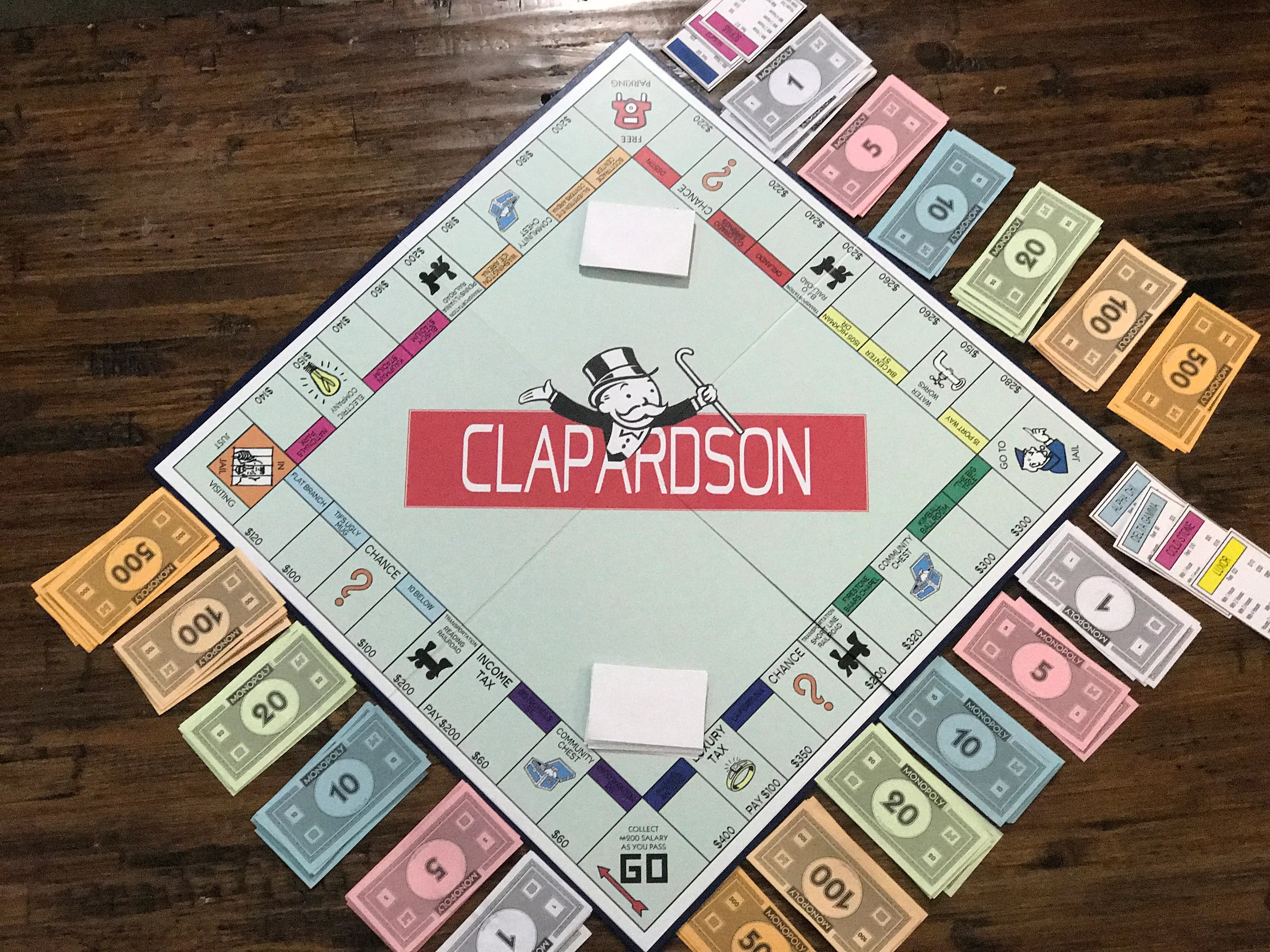 custom personalized monopoly game