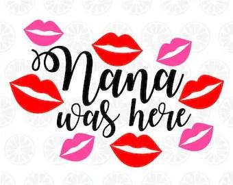 Download Nana svg   Etsy