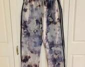 Tie Dye Adidas Grey Sweatpants