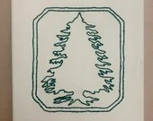 Pocono Lake Preserve Custom Embroidered Canvas Art