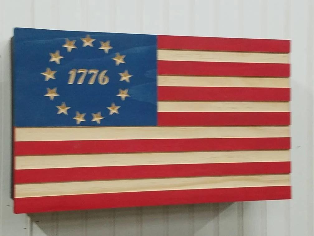 19 betsy ross 1776 american flag